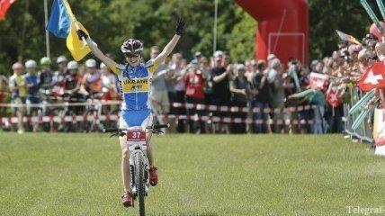 Украинка выиграла этап Кубка мира по маунтинбайку