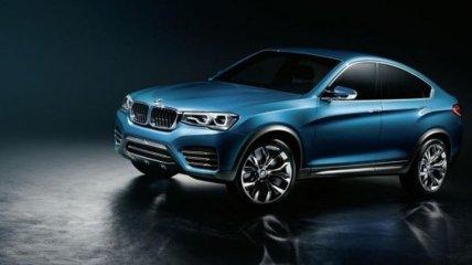 Новый кроссовер BMW X4