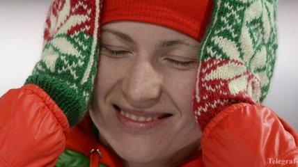 Биатлонистка Домрачева получила травму в первый день сборов