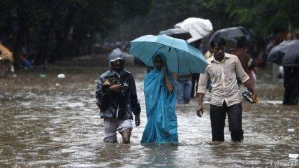 В Индии проливные ливни унесли жизни 70 человек