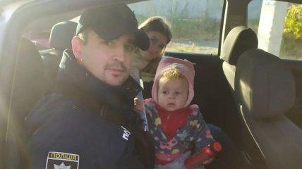 Девочку удалось разыскать аж в Хмельницкой области