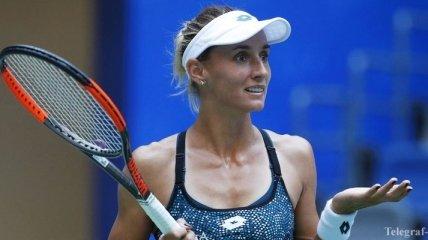 Цуренко проиграла россиянке в первом круге турнира в Ухане