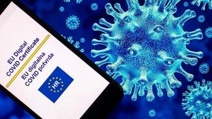 В правительстве объяснили заминку с признанием украинских COVID-сертификатов в ЕС
