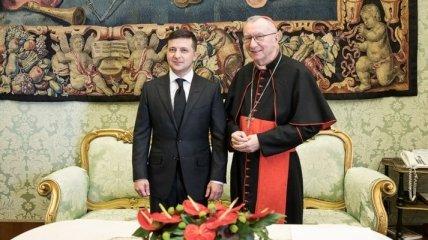 Зеленский в Ватикане: Нас объединяют общие ценности и общее видение будущего