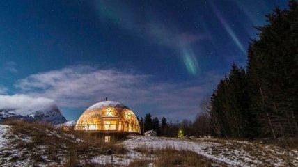 Экодом в вакууме: Уютный и экологичный домик в Норвегии (Фото)