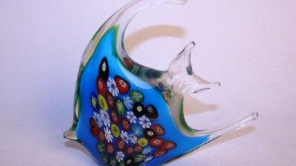 Нежные зверушки из стекла (Фото)