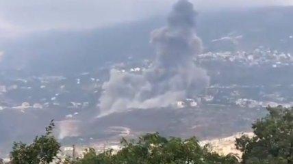 Недалеко от разрушенной столицы Ливана произошел еще один взрыв