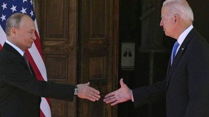 """""""Байден уже проворачивал подобный трюк с Путиным"""": психолог о рукопожатии президентов РФ и США в Женеве"""