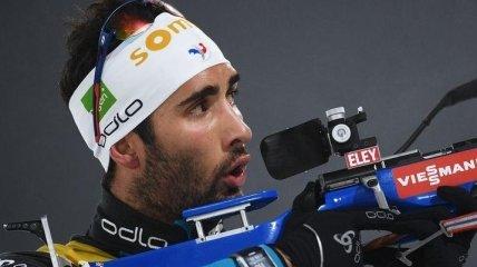 Біатлоніст Мартен Фуркад показав зворушливі фото доньок