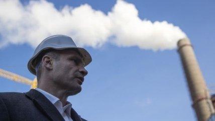 Кличко провел осмотр нового электрофильтра на Дарницкой ТЭЦ