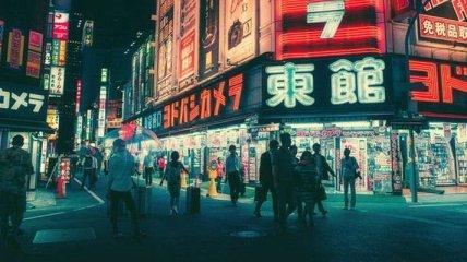 Ночная жизнь Токио (Фото)