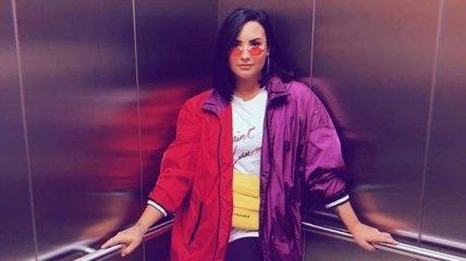 Певица Деми Ловато спровоцировала слухи о своей беременности (Фото)