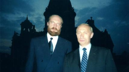 Сергей Пугачев и Владимир Путин