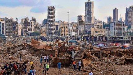 Взрыв в Бейруте: из-за катастрофы в стране зафиксировали рекордную вспышку коронавируса