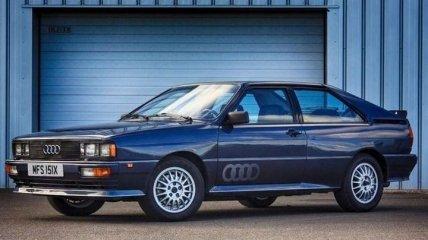 Audi отмечает 40-летний юбилей Quattro