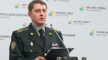 Один украинский военный погиб в зоне АТО за сутки