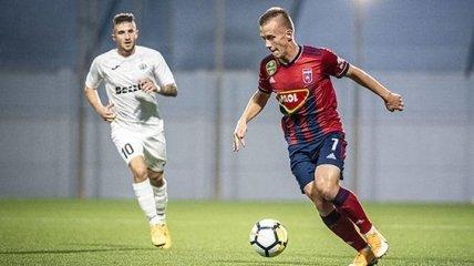 Петряк принял участие в голевой атаке в матче Лиги Европы (Видео)