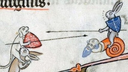 Смех до слез: беспощадные кролики на гравюрах Средневековья