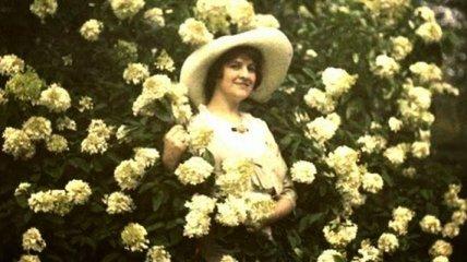 Цветные фотографии начала XX века