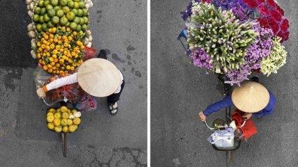 Красивый фотопроект о работе женщин Вьетнама (Фото)
