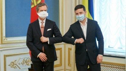 Зеленский поблагодарил Португалию за поддержку территориальной целостности Украины