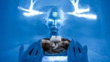 Отель изо льда и снега: художники представили необычные номера (Фото)