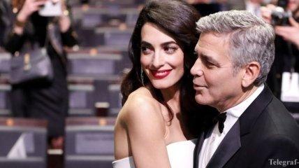 Джордж Клуни признался, почему влюбился в Амаль