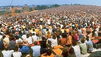 "Закат ""эры хиппи"": Вудсток 1969 года (Фото)"