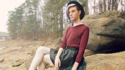 Модный парень, который вызывает двоякое чувство (Фото)
