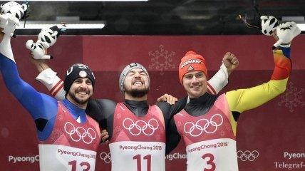Олимпиада-2018: результаты мужских соревнований по санному спорту