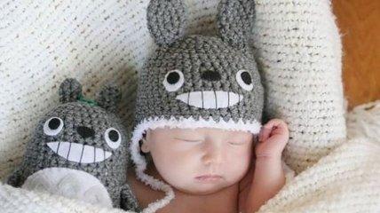 Смешные вязанные шапки для первых холодов (Фото)