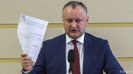 Президент Молдовы угрожает Конституционному суду страны