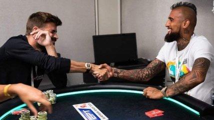 Звезды Барселоны выиграли в покер почти полмиллиона евро