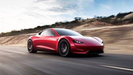 Как у Джеймса Бонда: Tesla Roadster получит новую опцию