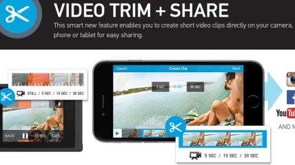 GoPro предлагает создавать и редактировать видеоролики