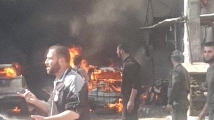 Десятки погибших: в Сирии взорвалась нефтяная цистерна