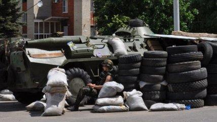 Террористы продолжают обстреливать из минометов позиции сил АТО
