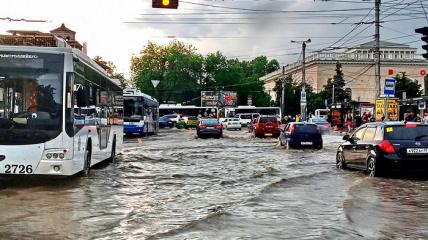 Дожди в Одессе