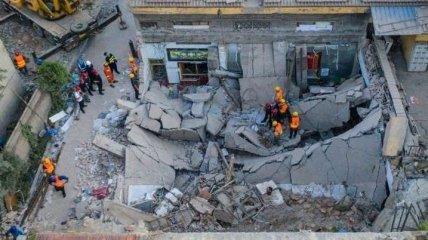 В Китае выросло число погибших в результате обрушения ресторана