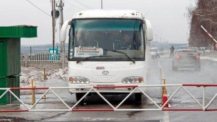 В зоне АТО приостановили пассажирские перевозки
