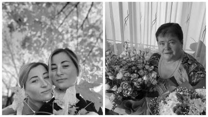 Сестри Семеренко і їх мама Ганна
