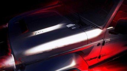 В Сети появился тизер на внедорожник Jeep Wrangler поколения JL