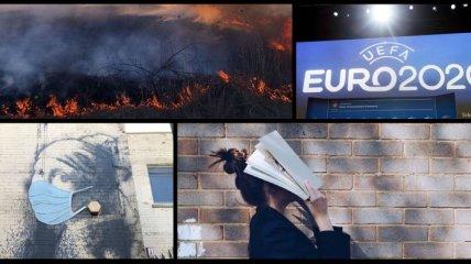 Итоги дня 23 апреля: COVID-19 и ситуация с пожарами в Украине, особенности ВНО 2020