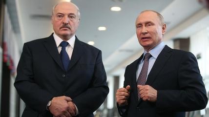 Александр Лукашенко и Владимир Путин. Фото: Известия