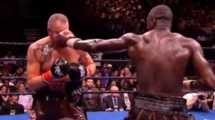 Уайлдер защитил титул чемпион мира, избив Дюопа (Видео)