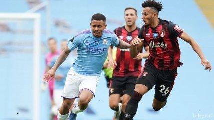 Манчестер Сити минимально одолел Борнмут, Зинченко вышел на замену