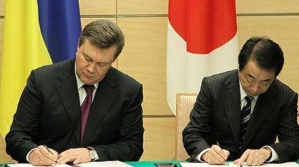 Сотрудничество Украины и Японии
