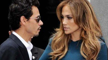 Дженнифер Лопес открыла секрет о разводе с Марком Энтони (Фото)