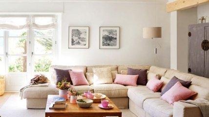 Пастельные оттенки в интерьере испанской квартиры