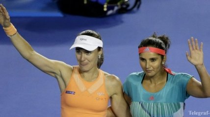 Хингис и Мирза победили на турнире в Риме
